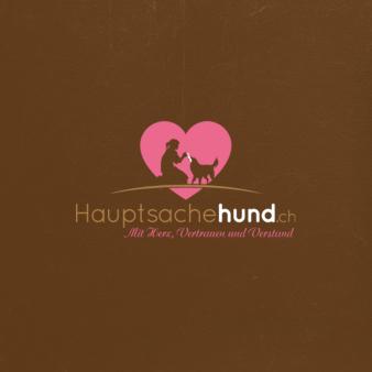 Hauptsache-Hund-Therapie-Logo-Design