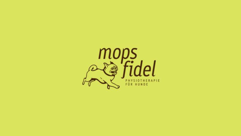 Hund-Logo-Mops-Fidel