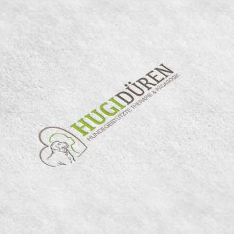 Hundeschule-Logo-Design-Hugidüren