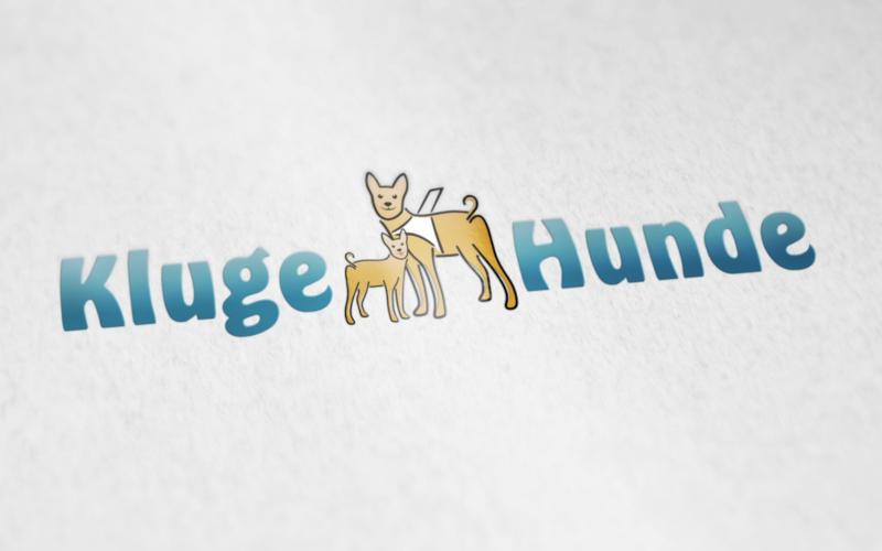 Kluge-Hunde-Logo-Design