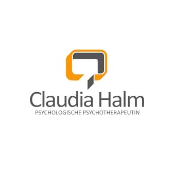 Logo-Design-Psychotherapie-Claudia-Halm