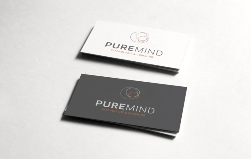 Puremind Psychologie Logo Design