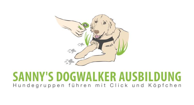 Sannys-Dogwalker-Ausbildung-Hund-Logo