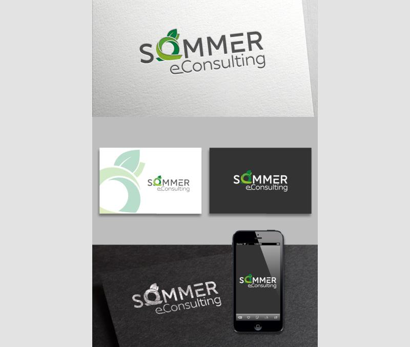 Sommer eConsulting Corporate Design Wiedererkennungswert Marke