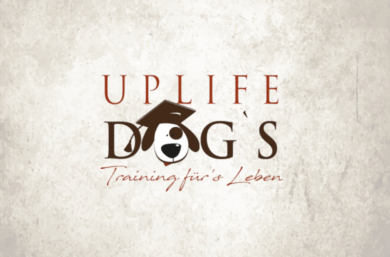 Uplife-Dogs-Hundeschule-Logo-Design