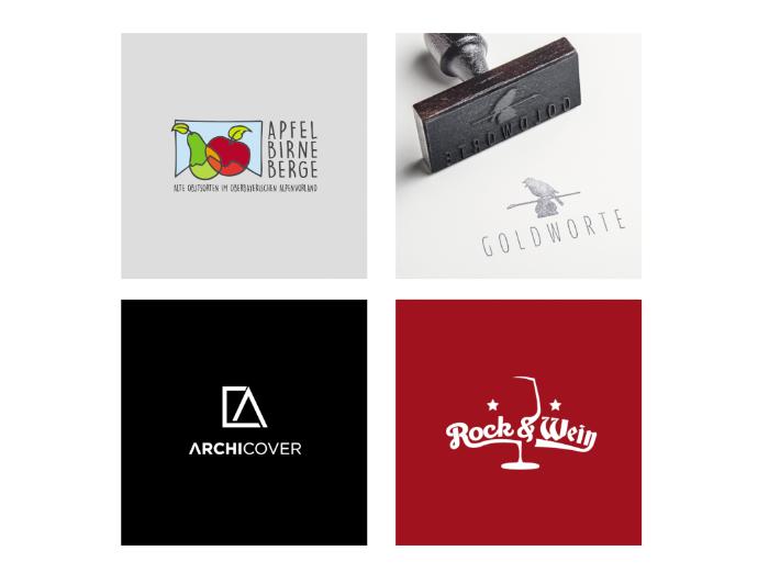 Wiedererkennungswert Logo-Design Marke