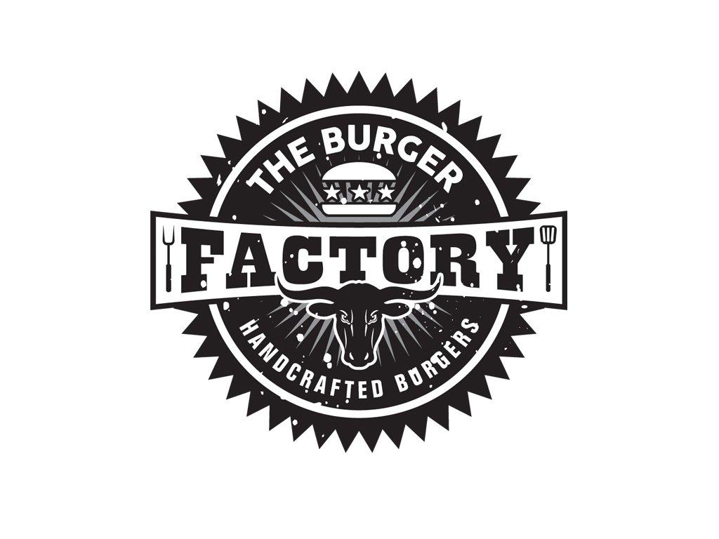 Event Logo, The Burger Factory