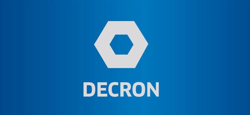 Flat Logo Design Decron