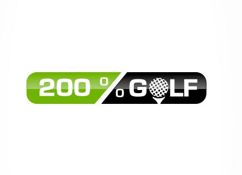 Golf Logo, 200% Golf