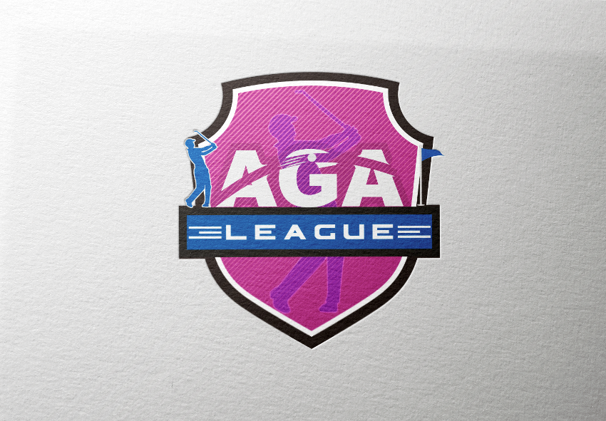 Golf Logo, AGA League