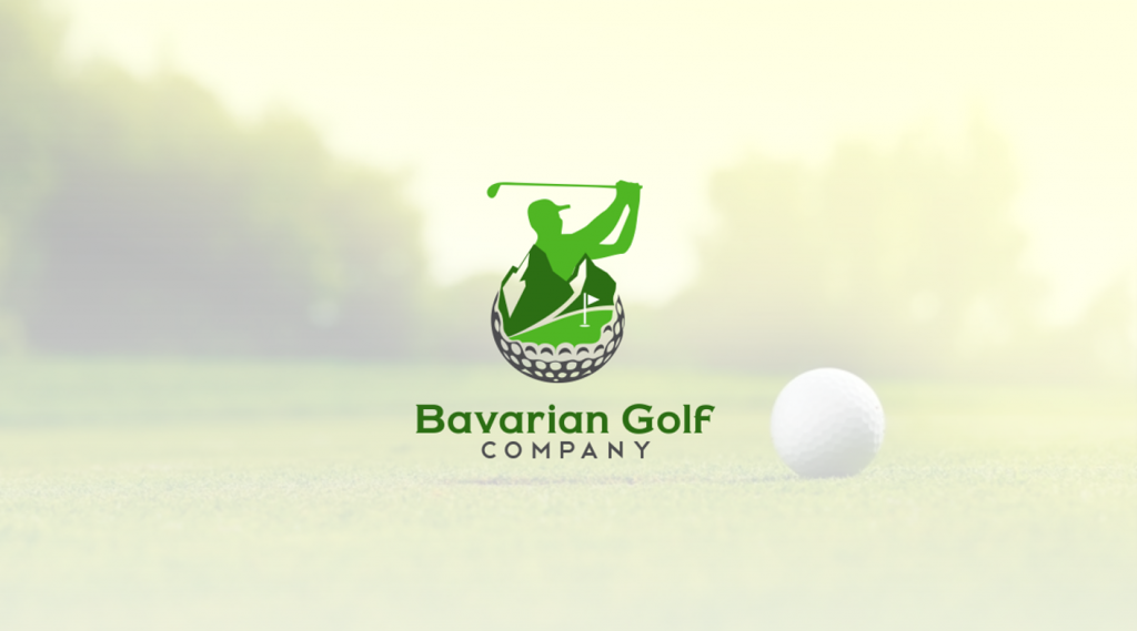 Golf Logo, Bavarian Golf Company