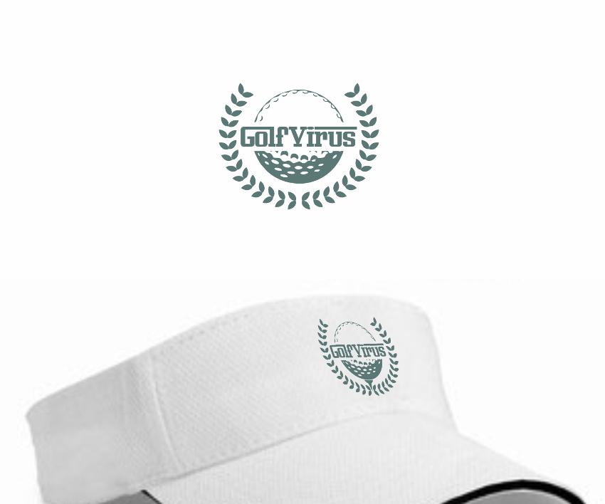 Golf Logo, GolfVirus
