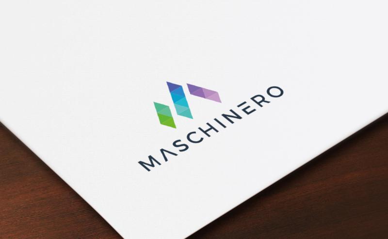 Maschinero-Flat-Logo-Design