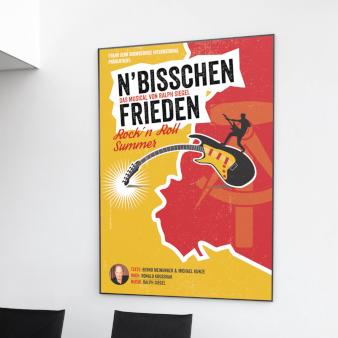 Rockn-Roll-Summer-Plakat-Design-Beispiel