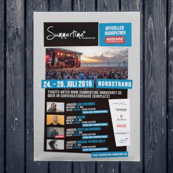 Summertime-Plakat-Design-Beispiel