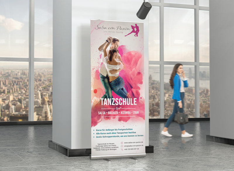 Tanzschule-Salsa-Plakat-Design-Beispiel