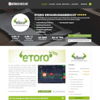 Betrugscheck.net-Landingpage-Design-Beispiele