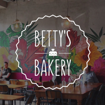 Betty Bakery rundes Cafe Logo
