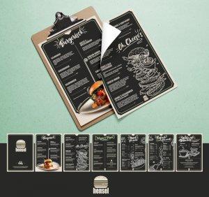 Burgerisch-Erstellung-Speisekarte-Design