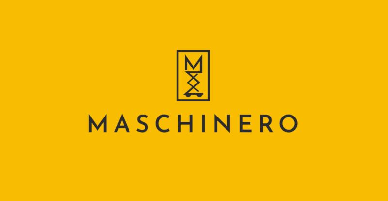 Gelbes-Logo-Design-Maschinero