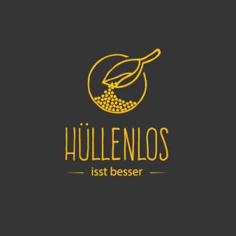 Hüllenlos-Gelbes-Logo-Design