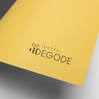 Imkerei-Degode-Gelbes-Logo