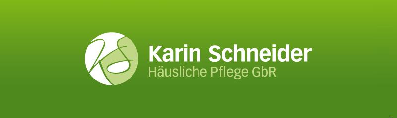 Karin Schneider Häusliche Pflege Logo Pflegedienst