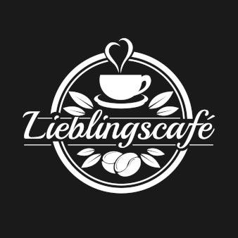Logo-Design-für-Cafe-in-rund-Lieblingscafe