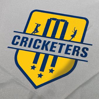 Logo-Design-in-Gelb-Cricketers