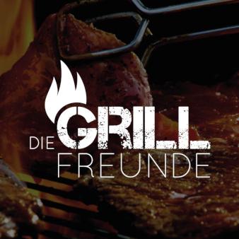 Logo-Design-mit-Feuer-Die-Grillfreunde