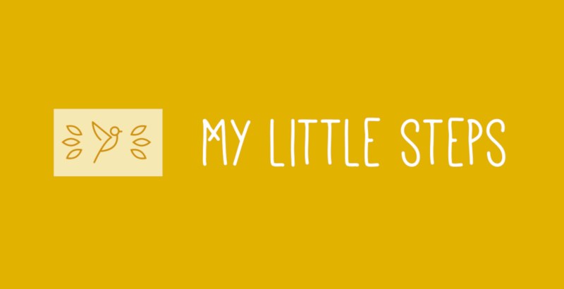 My Little Steps Logos Gelb