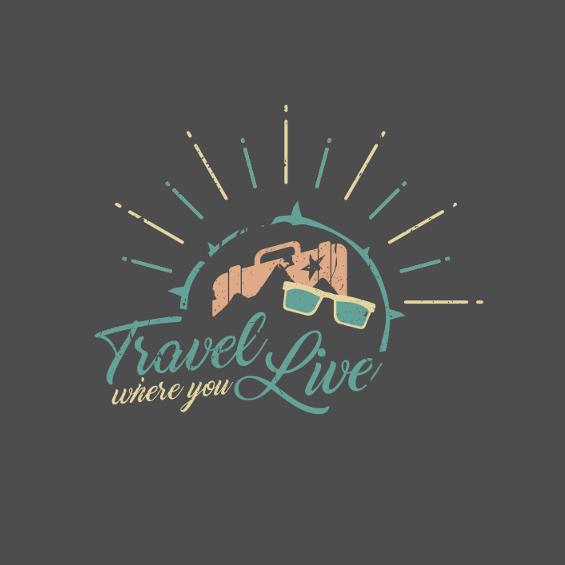 Reiseblog Logo Travel where you Live