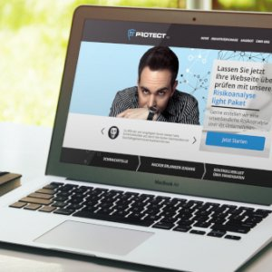 iT-Protect-Landingpage-Design-Beispiel