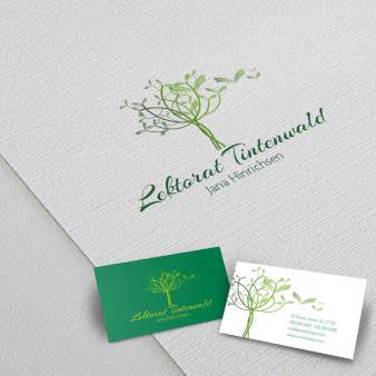 Baum-Logo-Lektorat-Tintenwald