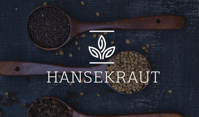 Cooles Logo Design Hansekraut