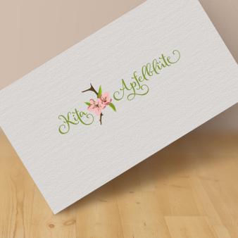 Cooles-Logo-Kita-Apfelblüte