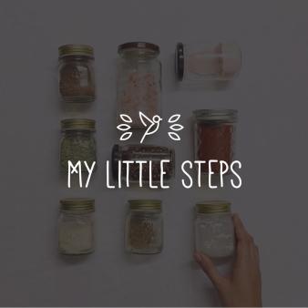 Cooles Logo für My Little Steps
