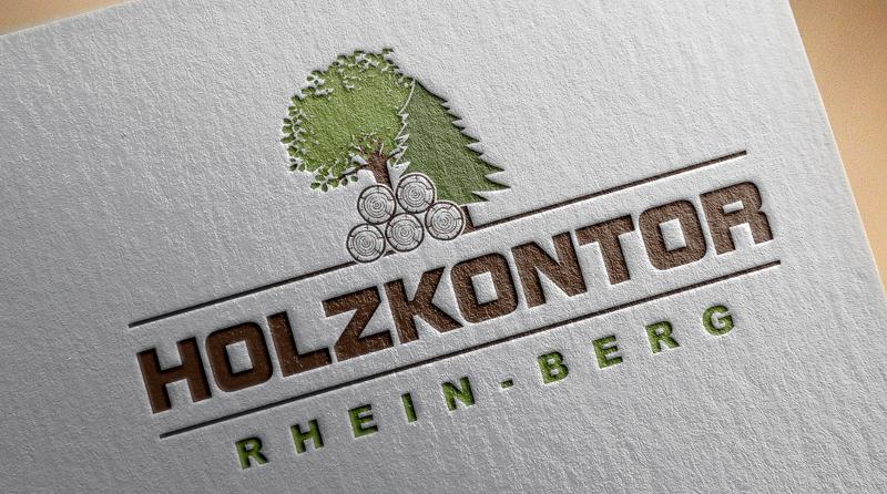 Forstbetrieb Logo, Holzkontor