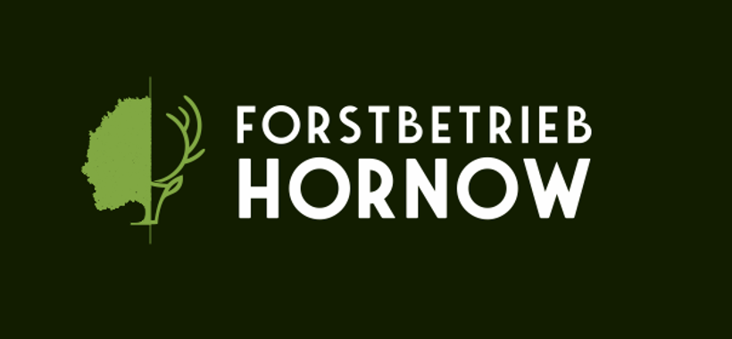 Forstbetrieb Logo, Hornow