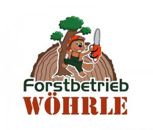 Forstbetrieb Logo, Wöhrle