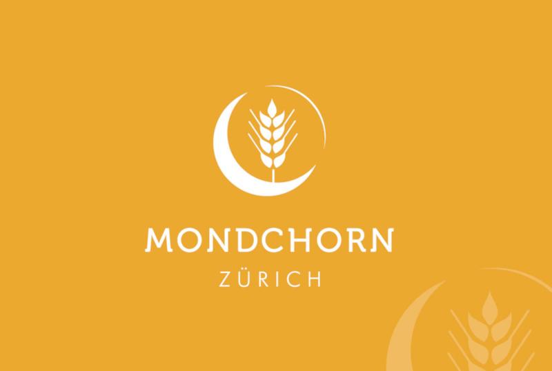 MondChorn Zürich Mond Logo Design