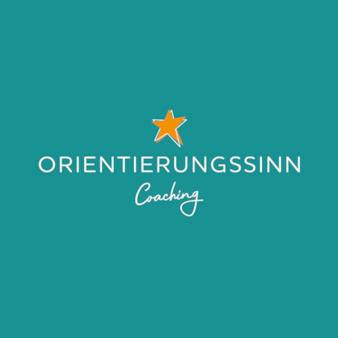 Orientierungssinn Coaching Logo mit Stern