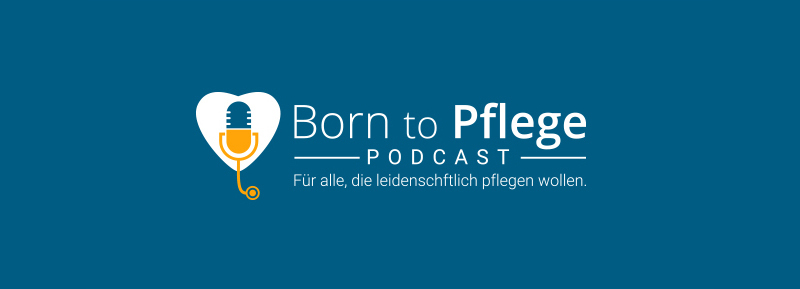 Podcast-Logo-Design-Born-to-Pflege