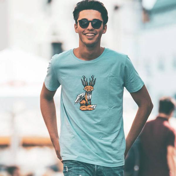 Wolpertinger T-Shirt Motiv