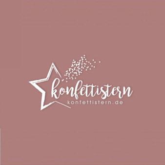 Sternen-Logo-Konfettistern