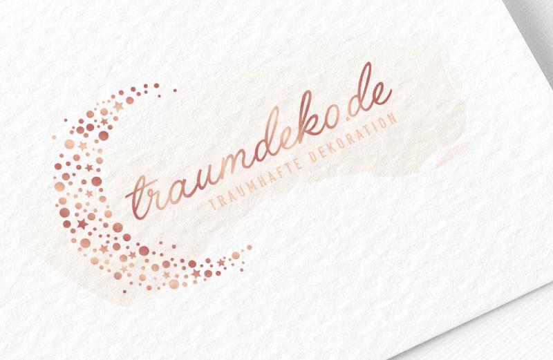 Traumdeko Mond Logo Design