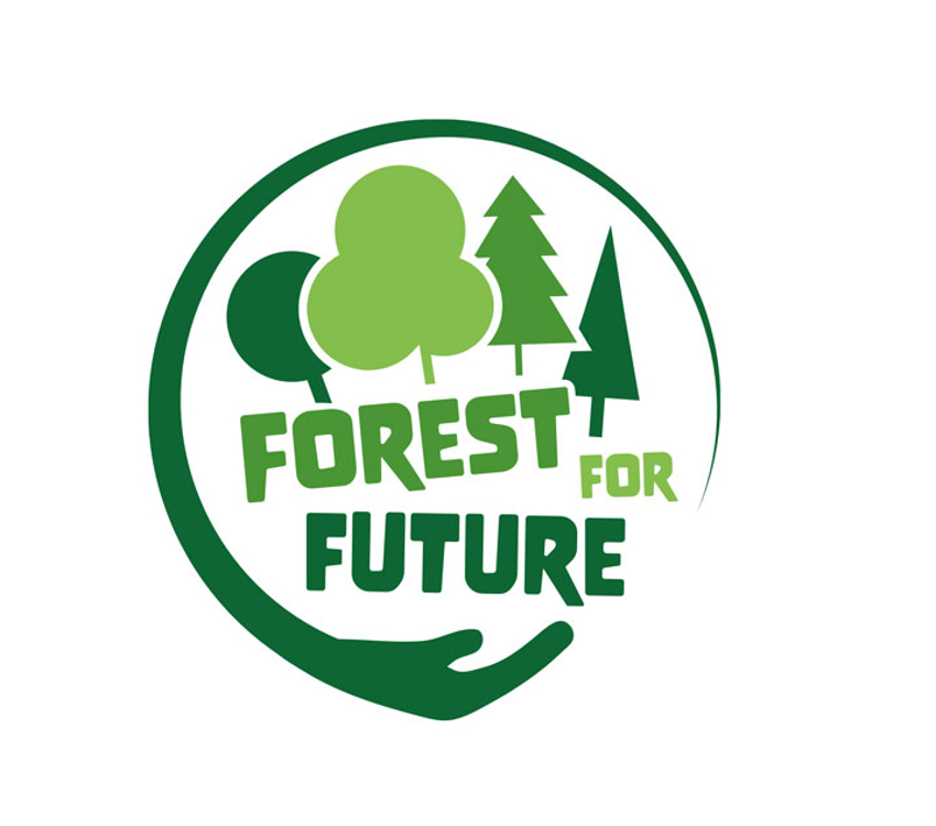 Forstbetrieb Logo, Forest For Future