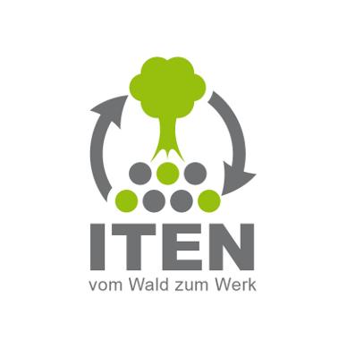 Forstbetrieb Logo, Iten Holztransporte