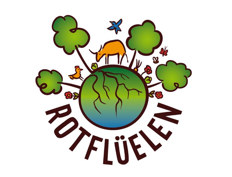 Forstbetrieb Logo, Rotflüelen