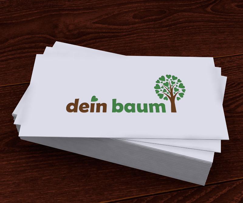 Forstbetrieb Logo, dein Baum